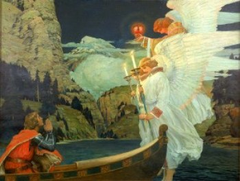 Frederick-J-Waugh-The-Knight-of-the-Holy-Grail-1912-fine-art-30227320-1400-1056