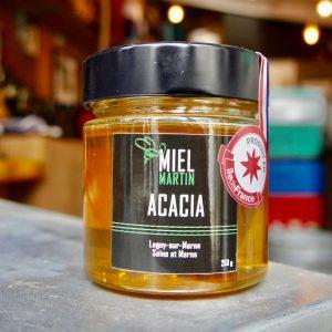 photo pot de miel d'acacia