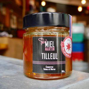 Miel de tilleul recolté en Ile de France