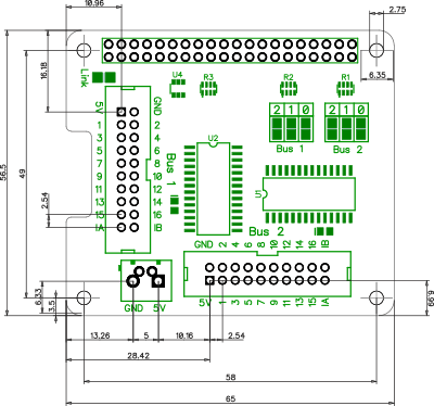 5 prong relay wiring diagram 1991 ezgo marathon io pi plus 32 channel port expander for the raspberry mechanical drawing
