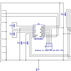 Raspberry Pi 3 Model B Wiring Diagram Hyundai Diagrams Rs232 Serial Interface For The Schematic