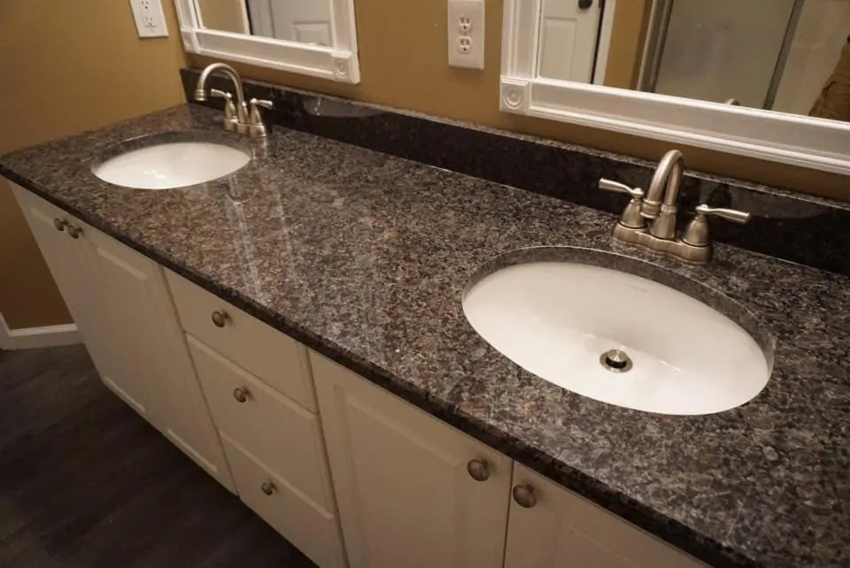 Cafe Royal Double Sink Bathroom Vanity In Chambersburg Pa A Bella Countertops