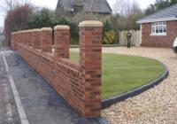 Reclaimed Brick Garden Walls - Garden Ftempo