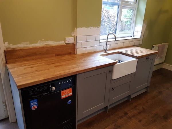 Example Complete Kitchen Renovation In Loughborough Abell Building Services