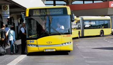 TXL-Bus bis zum Alex