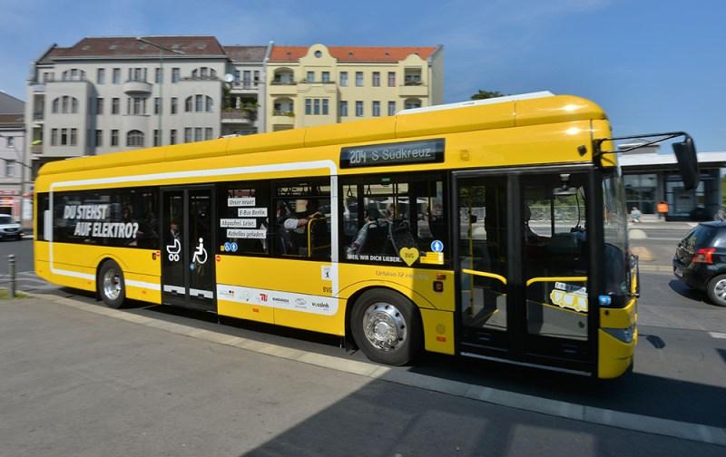 Grünes Licht für 45 elektrische BVG-Busse