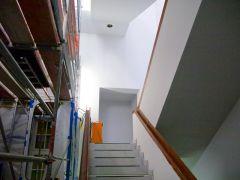 Ein neues Treppenhaus wird als Fluchtweg gebraucht.