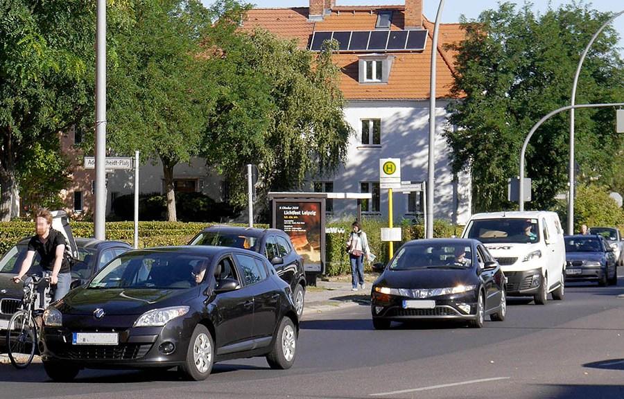 Durchgangsverkehr: Schotten dicht in der Gartenstadt