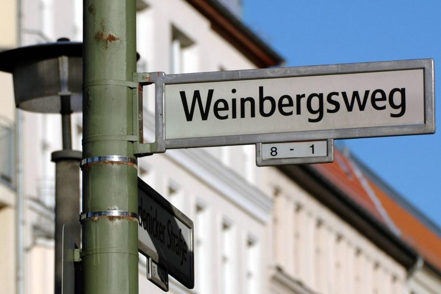 Viel Ärger am Weinbergsweg