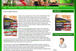 Web Replika Cara Cepat Kurus - Abenetwork Group