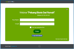 Akses Webinar Abenetwork Group