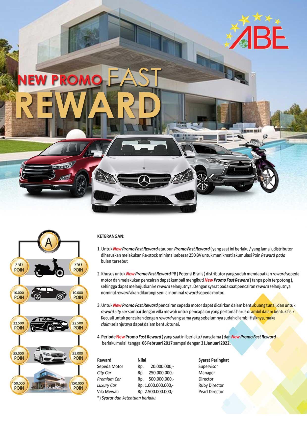 Promo Fast Reward Abenetwork