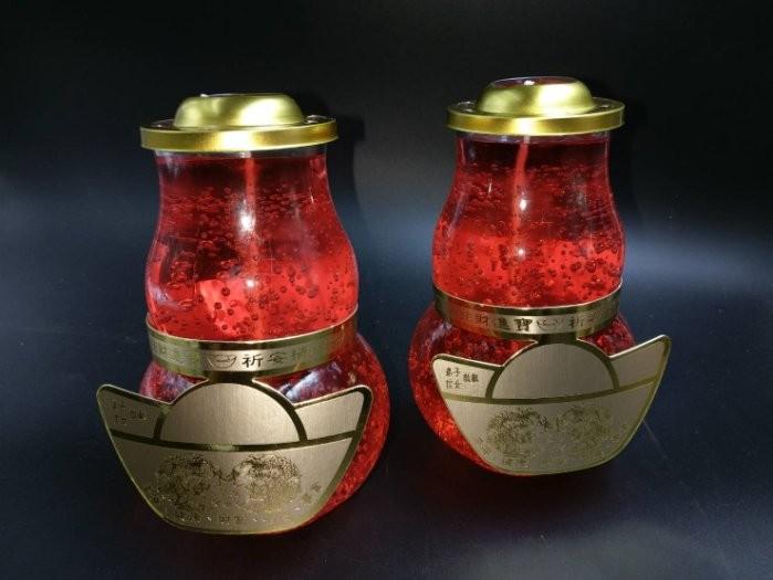 鳳梨果凍蠟燭2號 - 蠟燭