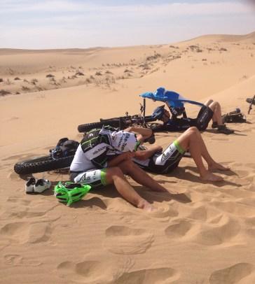 Fetbike Namib-Wüste Gerhard von Kapff