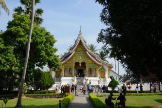 Königspalast, Luang Prabang, Pekong Pearl, Flusskreuzfahrt, Laos, Thailand