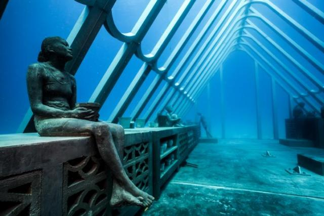 Unterwasser-Museum in Queensland. Foto: Jason deCaires Taylor