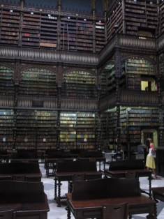 Bibliothek in Rio (Harry Potter?)