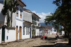 Gasse in Paraty
