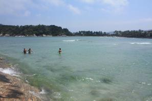 Auf dem Inselchen vor der Praia do Pernambuco