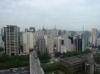 Blick über São Paulo, Richtung Av. Paulista