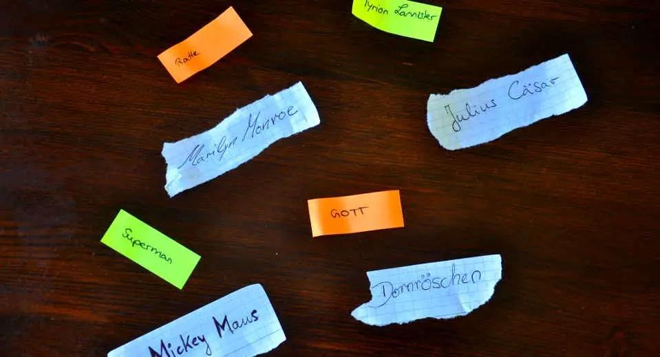 Wer bin ich  11 coole Varianten des Partyspiels  Anleitung