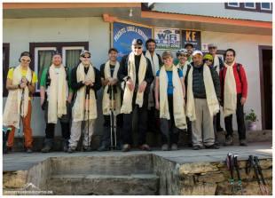 Abschied in Kharikola