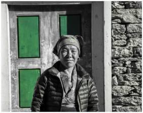Dorfleben in Nepal.