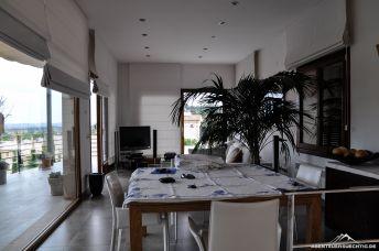 Essbereich und Wohnzimmer
