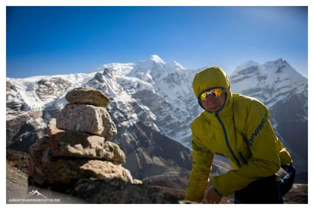 David vor dem Mera Peak