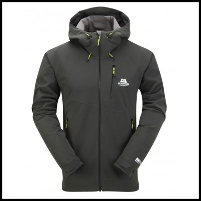 Trojan Hooded Jacket Raven
