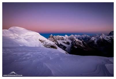 Morgenstimmung am Mera Peak - gigantisch