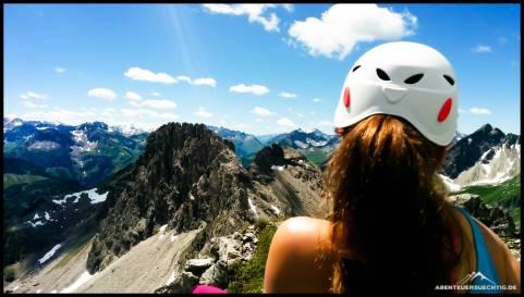 Der Mindeheimer Klettersteig bietet traumhafte Ausblicke!