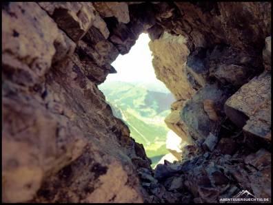 Schöne Ausblicke vom Mindelheimer Klettersteig