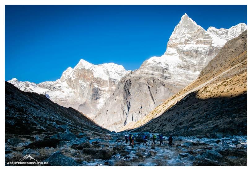 Minaturen im Reiche der hohen Berge