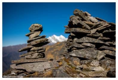 Steinmänner in Nepal