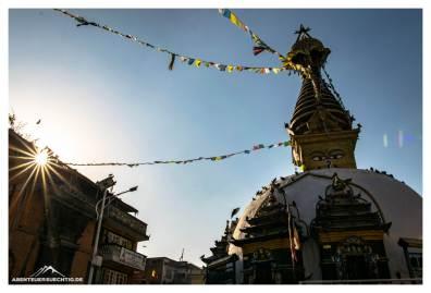 Sonnenspiel Kathmandu