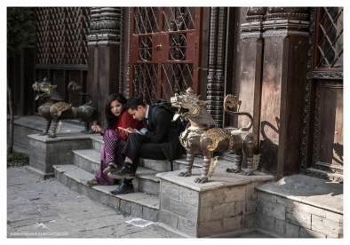 Liebespaar Kathmandu