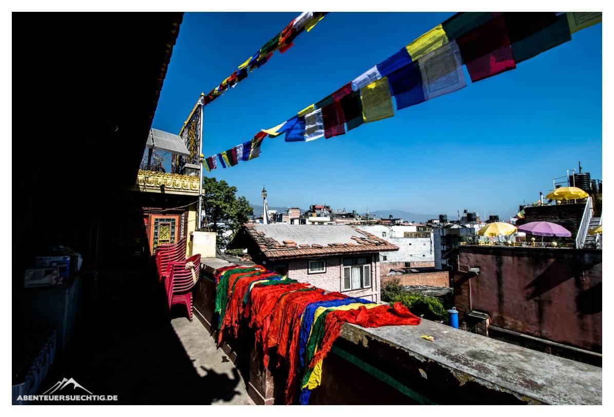 Buddhiste Farbenpracht