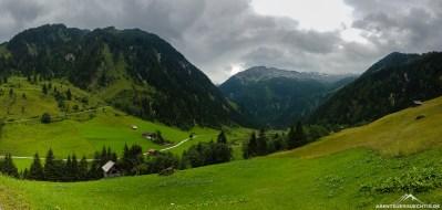 Panorama Talschluss Grossarltal