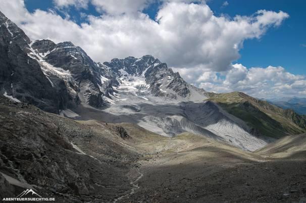 Gletscherweg zur Hintergrathütte