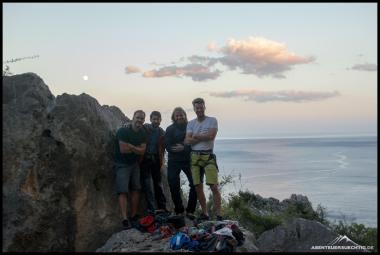 Das Kletter-Dream-Team.