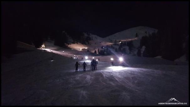 Nachtskitour zum Hochsitz Riesneralm