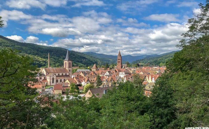 Typisches Ortsbild im Elsass