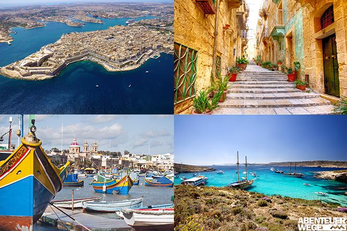 Malta, Gozo & Comino - Entspanntes Wandern, romantische Städte und antike Geschichte