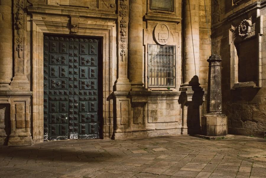 Pforte Kathedrale Santiago de Compostela