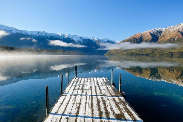 Nelson Lakes Nationalpark im Herbst