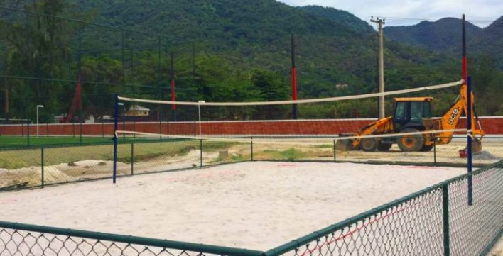 arena artificial de futevôlei