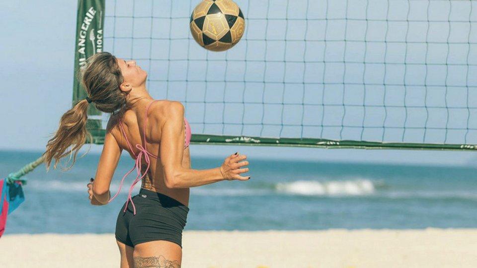 futêvolei aberbeach feminino mulher praia