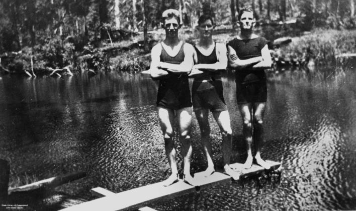História da Sunga de Praia - 1920 e 1930