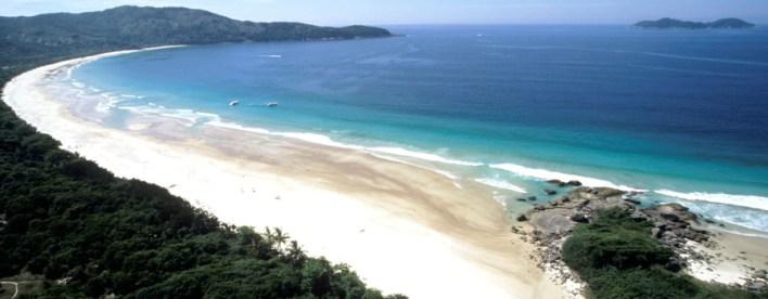 As 10 Praias mais bonitas do Brasil. Lopes Mendes - em Aberbeach moda praia e sungas de praia